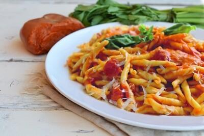 """Kalabrische Pasta an """"Nduja"""" Sauce"""