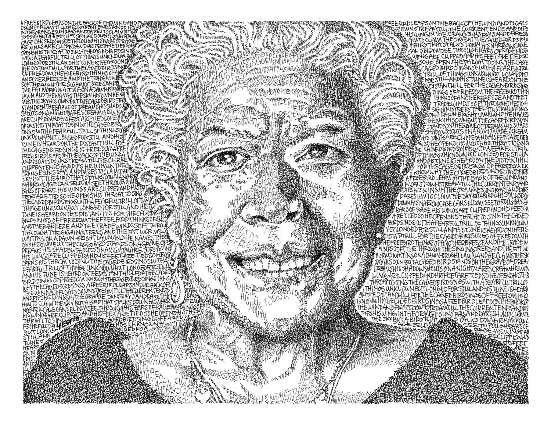 Maya Angelou  - Signed 8
