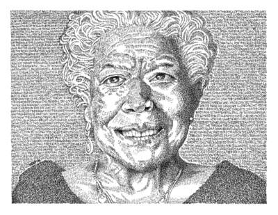 Maya Angelou  - Signed 11
