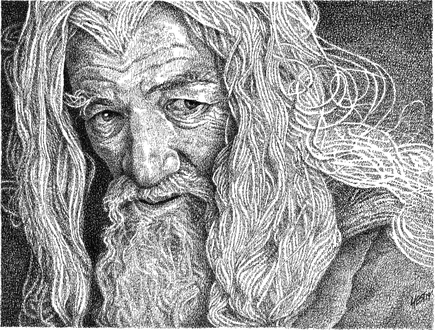 Gandalf The Grey  - Signed 11