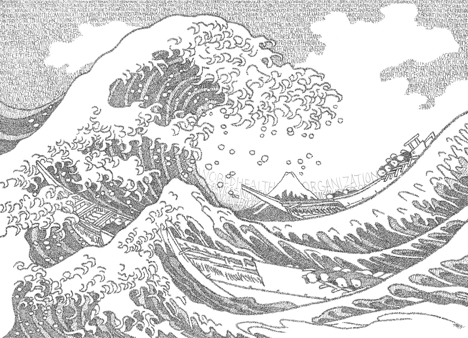 The Great Wave - Signed 8