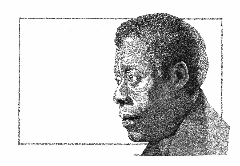 James Baldwin - SIGNED 8