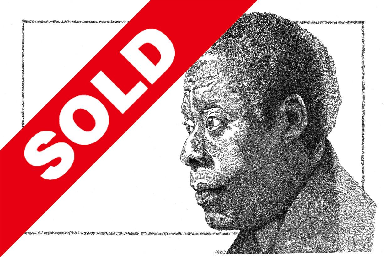 (SOLD!) - James Baldwin - ORIGINAL Signed 11