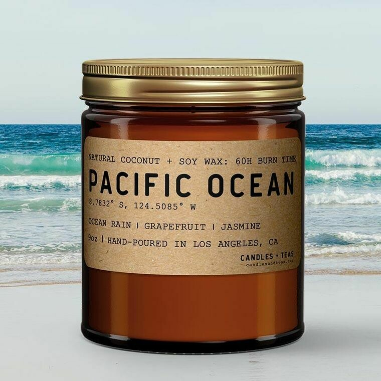 Pacific Ocean Candle
