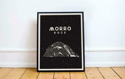Morro Rock Art Print