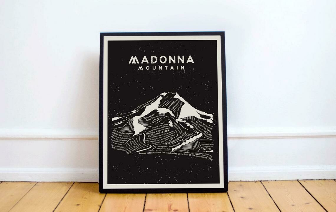 Madonna Mountain Art Print