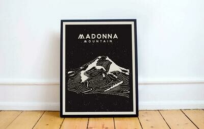 Madonna Mountain Art Print