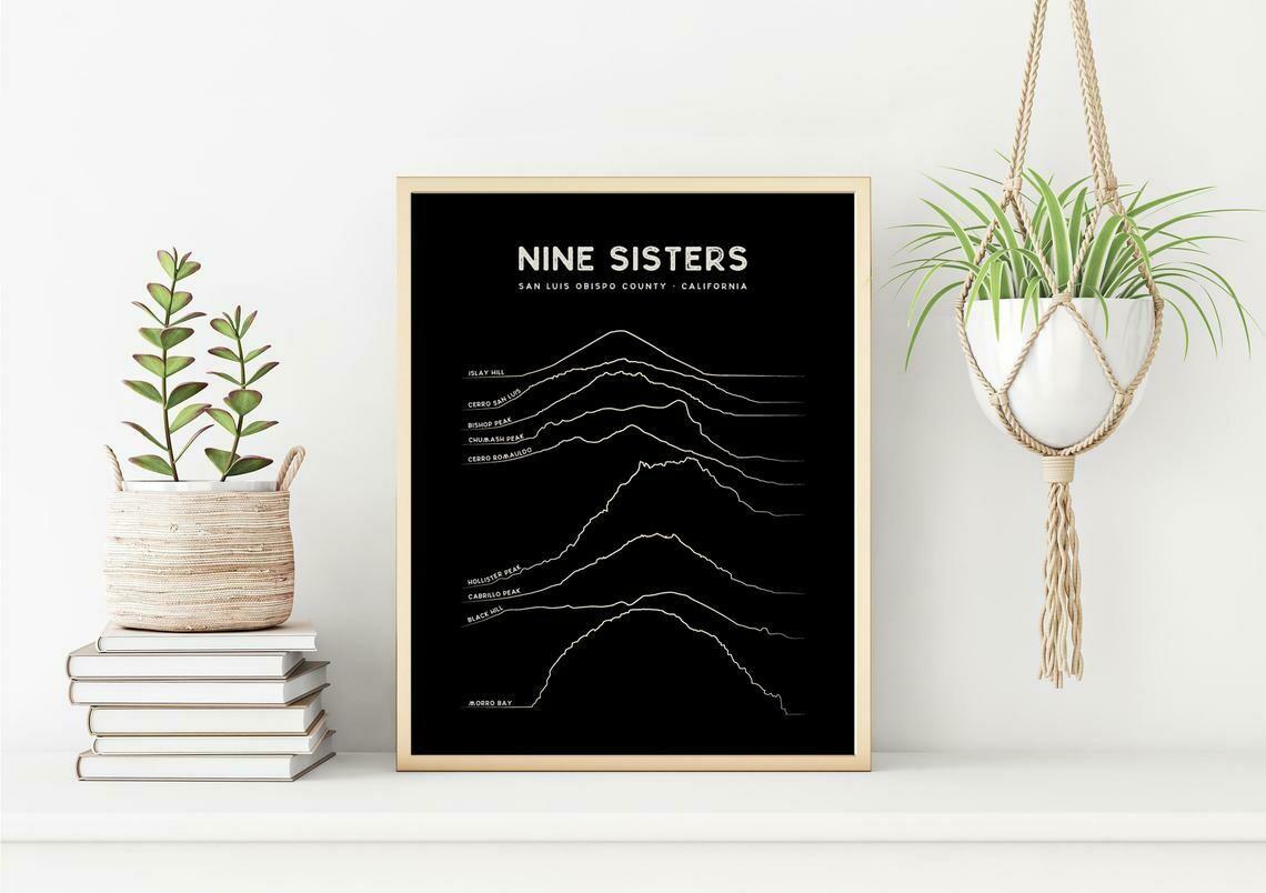 Nine Sisters Art Print