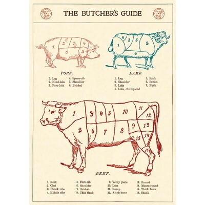 The Butcher's Guide Poster