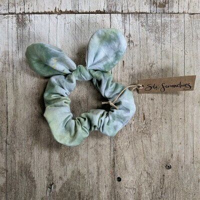 Sea Glass Scrunchie