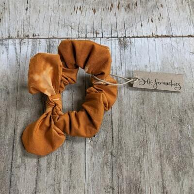 Pumpkin Spice Scrunchie