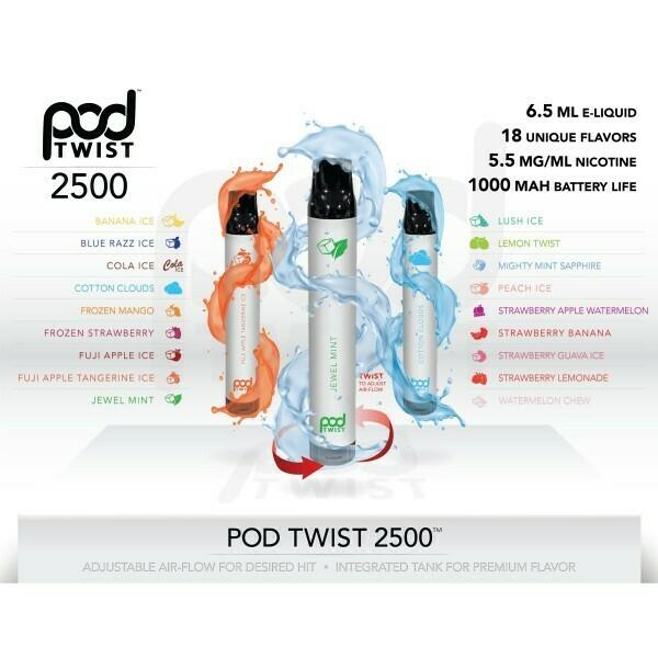Pod Stick Twist 2500