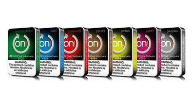 ON! - Nicotine Pouches 20ct