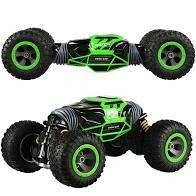 RC flipping car