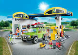 Playmobil Gas Station