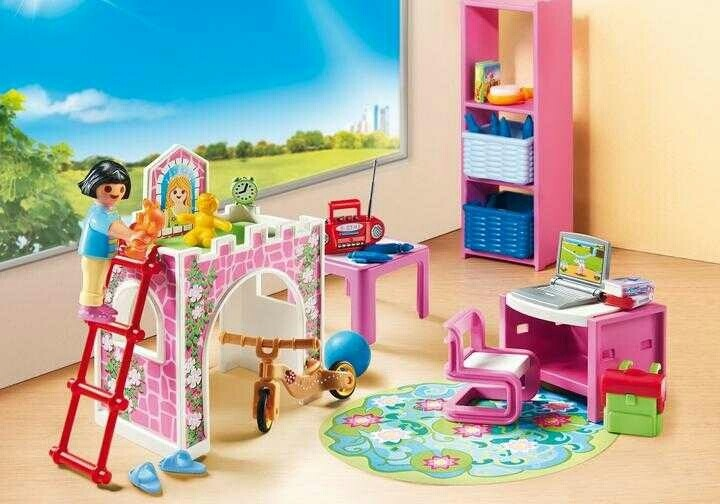 Playmobil bed room