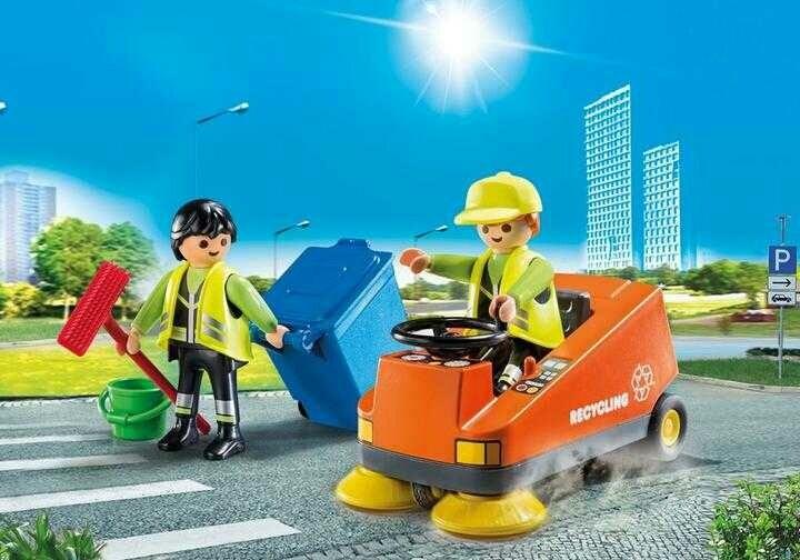 Playmobil ניקיון