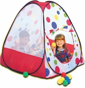 Tent + a 100 balls
