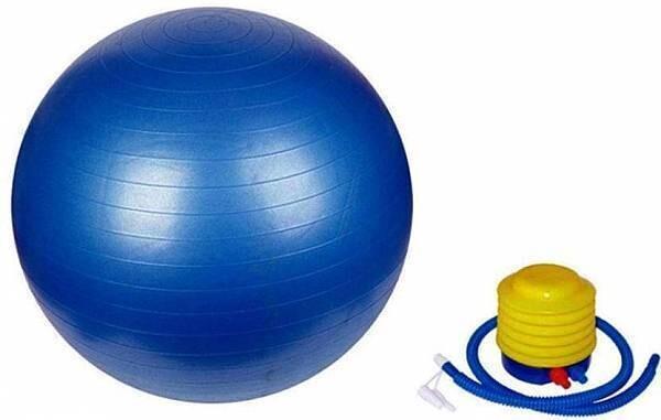 "כדור פיזיו כדור פילאטיס 55 ס""מ כולל משאבה"
