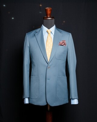 Blazer Model B03 Azul Grisáceo