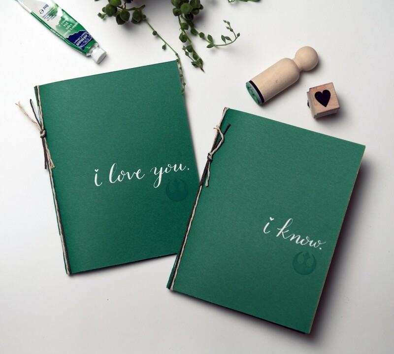 Star Wars Themed Vow Booklets