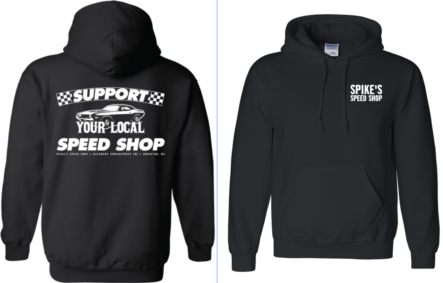 Support Your Local Speed Shop Hoodie