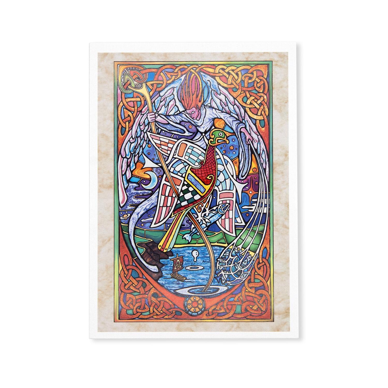 St. John The Eagle Greeting Card
