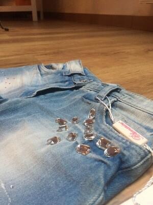Jeans MISS BLUMARINE 4 ans neuf