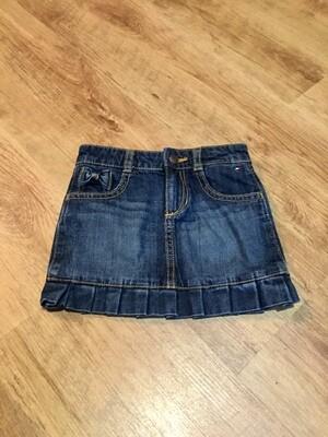 Jupe en jeans TOMMY HILFIGER taille 2 ans