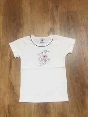 T-shirt PETIT BATEAU taille 6 ans
