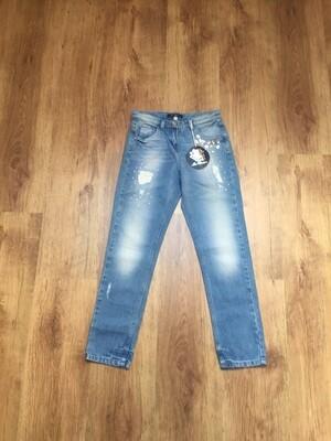 Jeans MISS BLUMARINE taille 8 ans neuf
