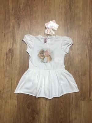 Robe MISS BLUMARINE BABY taille 6 mois neuf