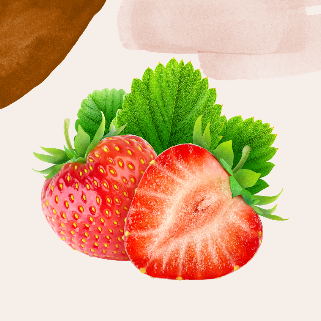Vohveli kermalla ja mansikkahillolla