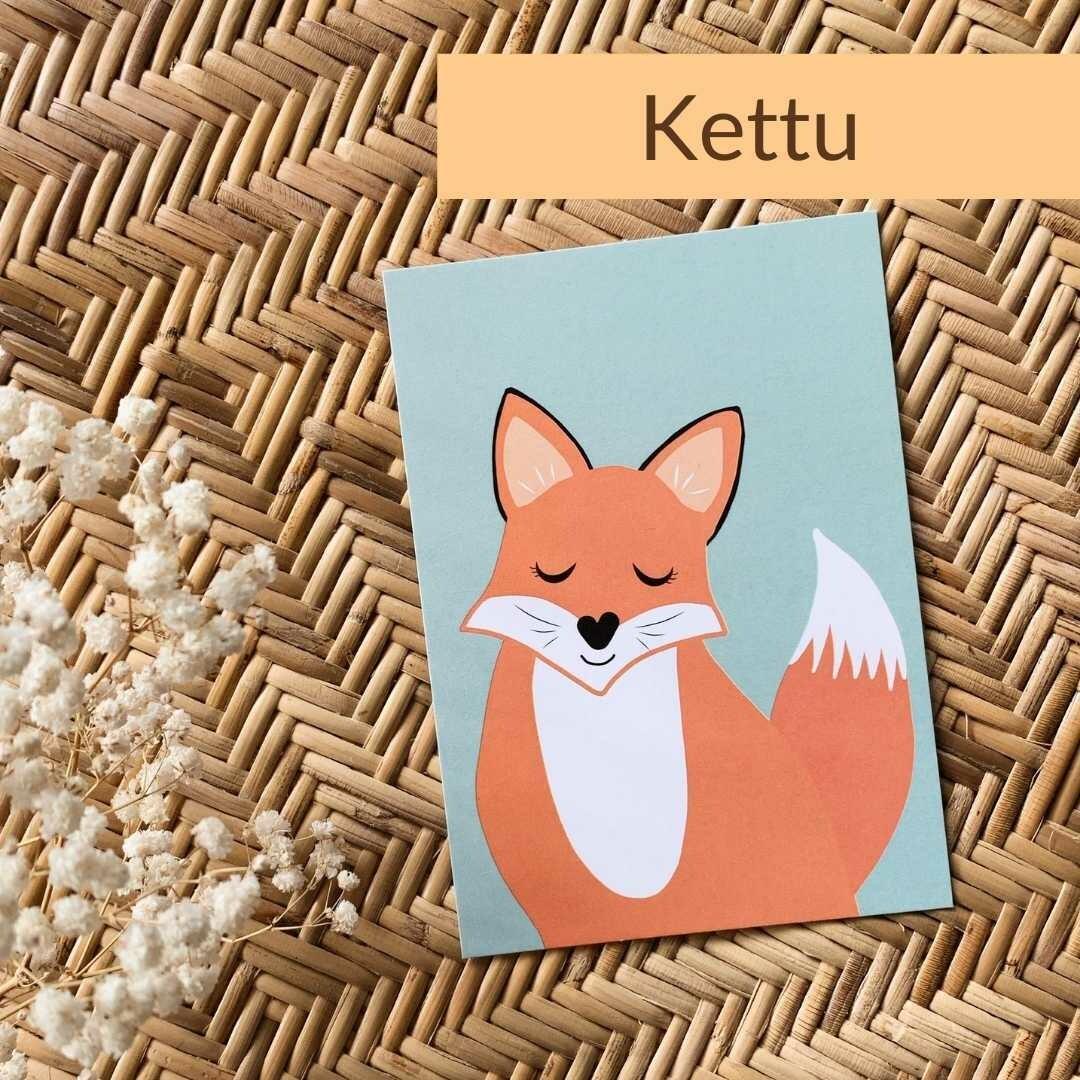 Eläinpostikortit