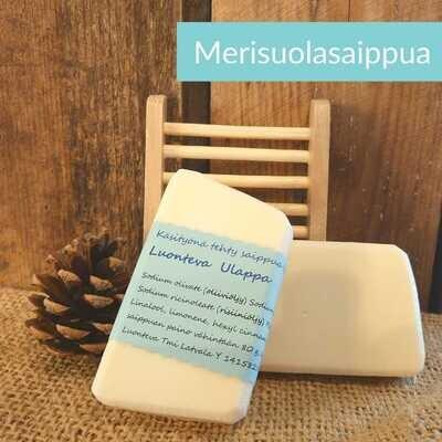 Merisuolasaippua/shampoo Ulappa -käsitehty kotimainen