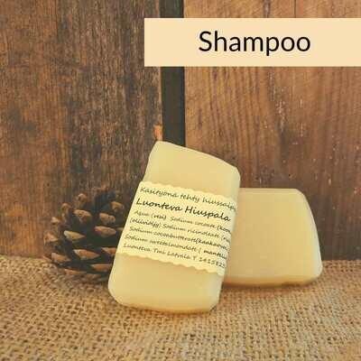 Shampoopala -käsitehty kotimainen