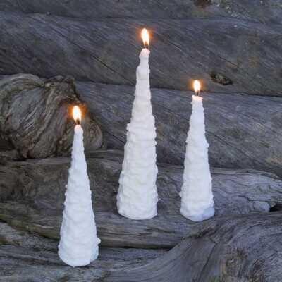 Kynttilä, tykkylumikuusi