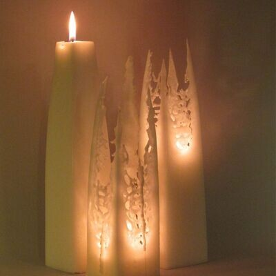 Aurora kynttilä 28 cm
