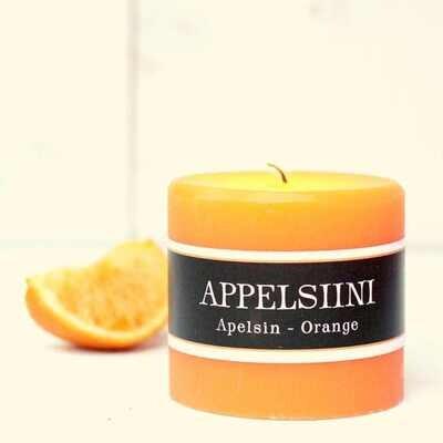 Kynttilä, appelsiinin tuoksu