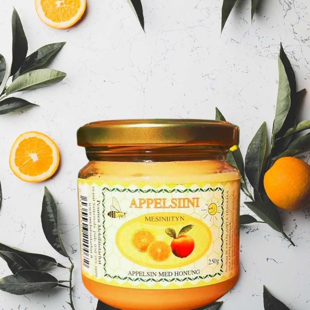 Hunaja appelsiini, kotimainen 250 g