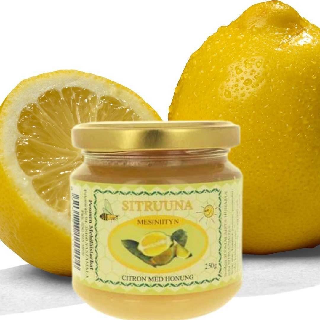 Hunaja sitruuna, kotimainen 250 g