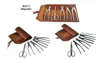 Bonsai Roll Up Bag - 6 Tools