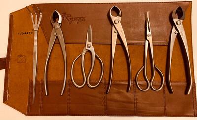 Bonsai Stainless Steel Tool Set A -6 pcs