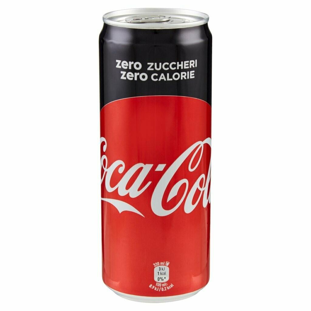 Coca Cola Zero - Lattina