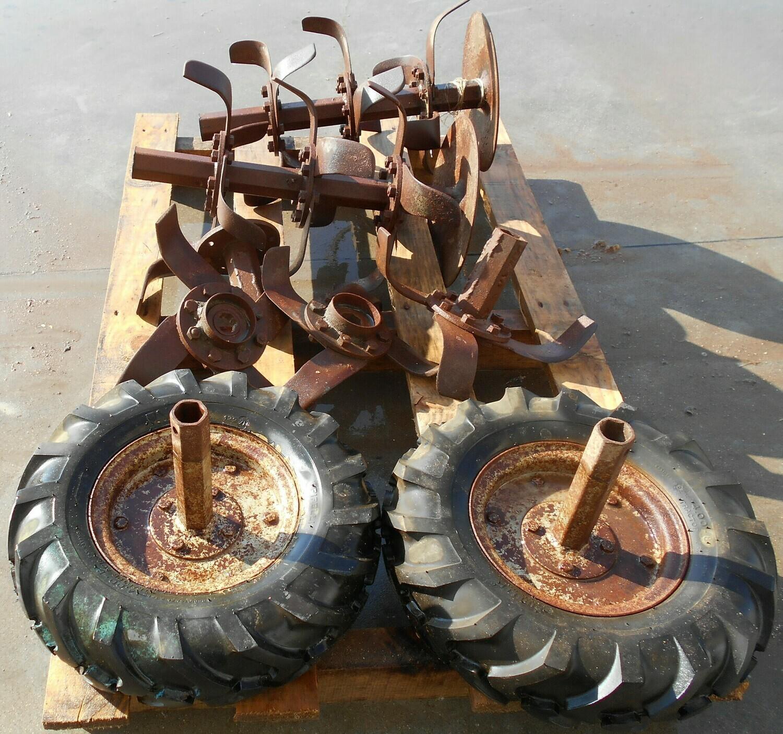 Zappette e ruote per motozappa