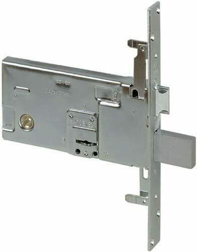 Serratura a doppia mappa per serramenti metallici 57318 - 73