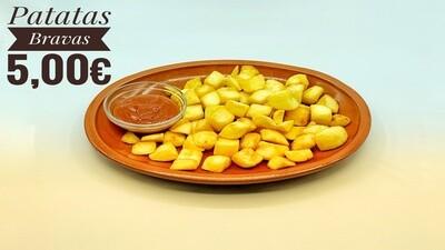 Patatas bravas o con alioli