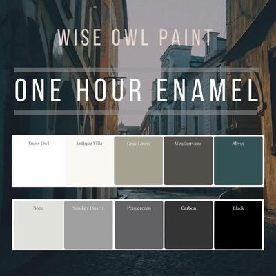 One Hour Enamel Paint Neutrals Collection