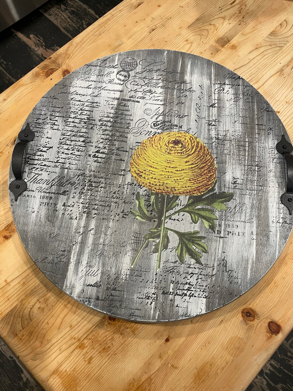 Create Your Own Tray Class October 2nd 4-7 PM
