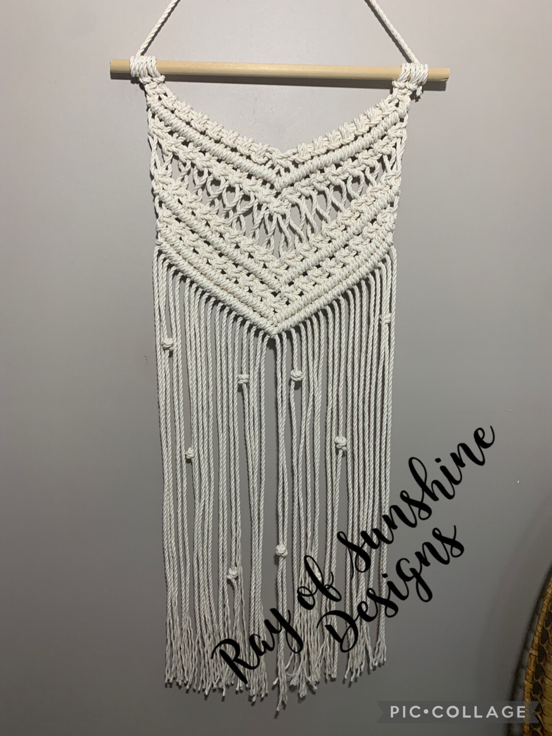 Wall Hanging Class July 27th 6-8pm